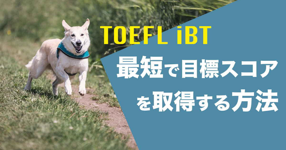 【TOEFL iBT】「61点」「80点」「100点」を最速でとるための全体戦略と対策